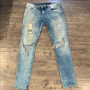 Blank NYC destroyed jeans- size 27
